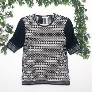 Tory Burch Knit Short Sleeve Top